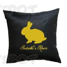 Cute <b>Golden Rabbit</b> Name Room Cushion!... - Print Spot - Tees ...