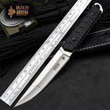 WIND <b>Outdoor sharp</b> wild survival tactical knife <b>outdoor</b> survival ...