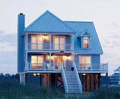 images about house on stilts on Pinterest   Beach House       images about house on stilts on Pinterest   Beach House Plans  Beach Houses and House plans