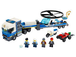 <b>Полицейский</b> вертолётный транспорт 60244   <b>City</b>   <b>LEGO</b>.com RU