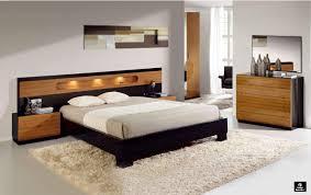 modern black bedroom set