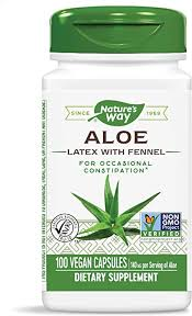 Nature's Way Aloe Latex with Fennel 140 mg, for ... - Amazon.com