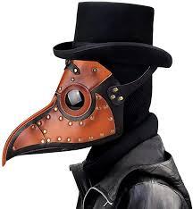 Leshi Shop <b>Plague</b> Doctor <b>Mask</b> for <b>Halloween</b> Outfit: Amazon.de ...