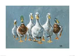 Louise Brown (<b>Reservoir Ducks</b>) Art Print   The Art Group