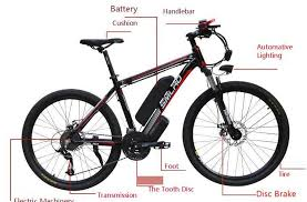 <b>Smlro</b> Lithium Battery Mountain Electric Bike Bicycle <b>26 Inch</b> 48V ...