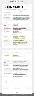 designer resume by designcise graphicriver designer resume resumes stationery