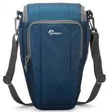 фотосумка <b>Lowepro Toploader Zoom</b> 55 AW II голубой купить в ...