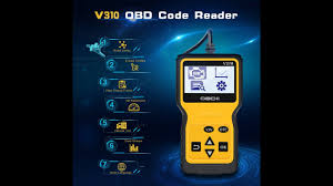 Panlong <b>V310 OBD2 OBD II Code</b> Reader Unboxing Review Check ...