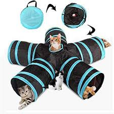<b>Collapsible 5 Way Cat Tunnels</b>, AUOKER Extensible <b>Pet Tunnels</b> ...