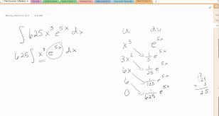 integration by parts tabular method integration by parts tabular method