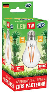 Купить <b>Лампа</b> светодиодная для растений <b>REV</b> E27, A60, <b>7Вт</b> по ...