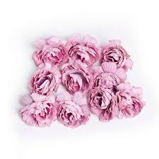 <b>10pcs</b>/<b>lot artificial flower</b> 5cm silk rose flower head wedding party ...