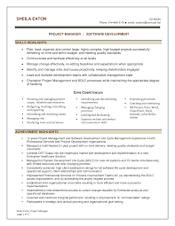 project management experience summary experience resumes resume examples software project manager resume sample best