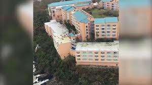 Hurricane Irma damage assessment flight over St. Thomas - YouTube