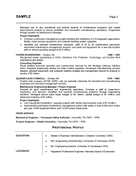 example of a well written resumes template example of a well written resumes