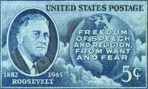 「four freedoms speech by roosevelt」の画像検索結果