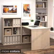 i3 by bestar l shaped desk with small hutch bestar embassy corner desk