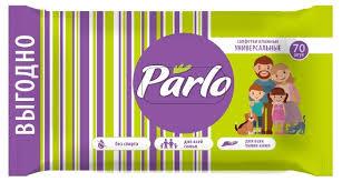 Купить Parlo <b>Влажные салфетки универсальные</b> для всей семьи ...