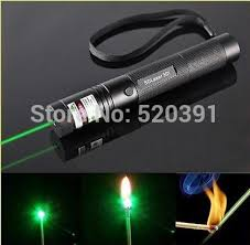 <b>High Power 100W</b> 1000000m 532nm Green Laser Pointer sight ...
