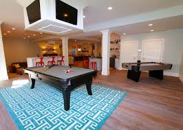 kitchen room pull table: the basement of this home has everything candy bar open theater room pool