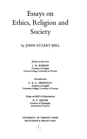THE LIBERTY OF THE INDIVIDUAL by John Stuart Mill   Foundation Truths
