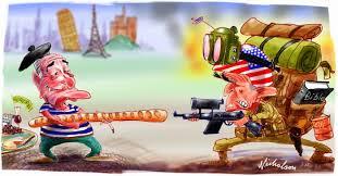 Resultado de imagem para EUA - Europe