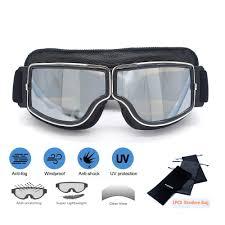 <b>evomosa Retro</b> Motorcycle Goggles Glasses Cruiser <b>Vintage</b> ...