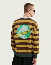Hedonistk Men <b>Autumn</b> Cotton <b>Long Sleeve</b> Stripe Men T-<b>shirt</b> ...