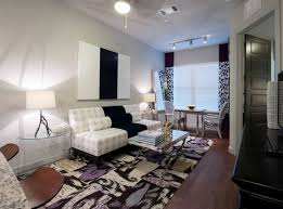model living rooms: model living room at amli uptown a luxury apartment community in houston