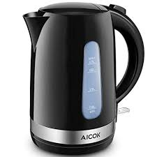 <b>Amazon</b>.com: Electric Kettle Aicok Lightweight Electric Tea Kettle ...