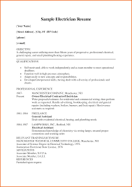 electrician sample resume executive resume template electrician resume sample resume my electrical technician resume