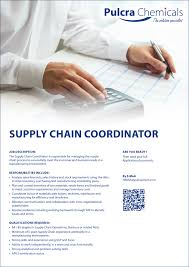 pulcra chemicals group linkedin supply chain coordinator usa