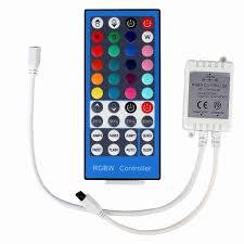 <b>ECLH 4 Channels DC</b> 12V 24V RGBW LED Controller Dimmer ...