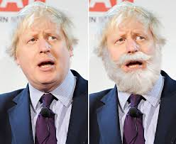 Image result for boris johnson+beard+picture