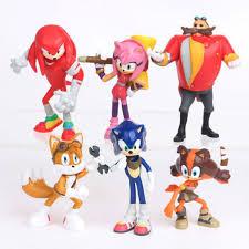 Купить Оптом 6шт SEGA Еж <b>Соник Sonic</b> Boom Эх Хвосты ...