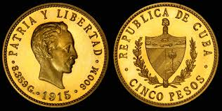 jos eacute mart iacute  joseacute martiacute depicted on the 1915 gold 5 n peso coin