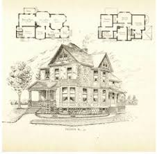Vintage house plans  Vintage houses and Gothic on PinterestVictorian home plans that appear to be by Architect Frank P  Allen of Grand Rapids