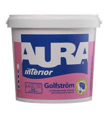 <b>Краска AURA GOLFSTROM д</b>/ванной/кухни особопрочная 2,7л ...