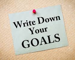 how to set smart goals for your financial dom write down your goals