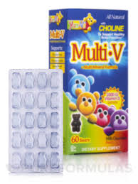 Yum-V's™ <b>Multi</b>-<b>V</b> + <b>Multi</b>-<b>Mineral</b> Formula, Milk Chocolate Flavor ...