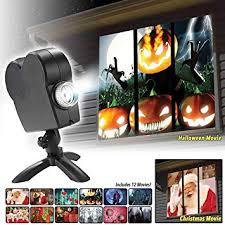 <b>Halloween</b>/<b>Christmas Laser Projector</b> 12 Movies Mini Window Home ...