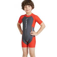 <b>Kids Boys Swimsuit</b> UPF50+ <b>One</b>-<b>Piece</b> Rash Guard <b>Swimsuit</b> Jump ...