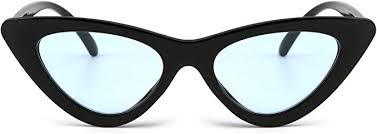 Retro Clout Goggles <b>Cateye Sunglasses</b> Cute <b>Cat Eye Plastic</b> ...
