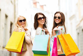 Image result for Girl on shopping