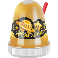 <b>Слайм Monster Slime</b> Золотой Космос, 130 гр <b>KiKi</b>
