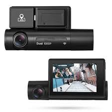 <b>Alfawise</b> LS02 1080P HD Dual Camera Car DVR WiFi Dash Cam ...