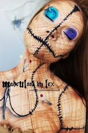voodoo doll makeup tutorial for 2016 party body painting sugar skull makeup ideas for s that you must learn in 2016 by tiana1301