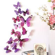 Pochers® <b>New 3D</b> DIY <b>Wall Sticker</b> Stickers Butterfly Home Decor ...