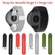 Metal Milan Silicon Strap 20mm <b>Universal Replacement Strap</b> For ...