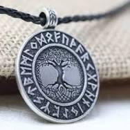 Viking Cross Pendant Necklace Vintage Jewelry Gift Viking Triple ...